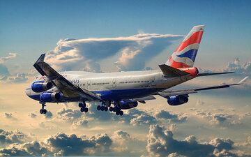 Samolot British Airways (zdj. ilustracyjne)