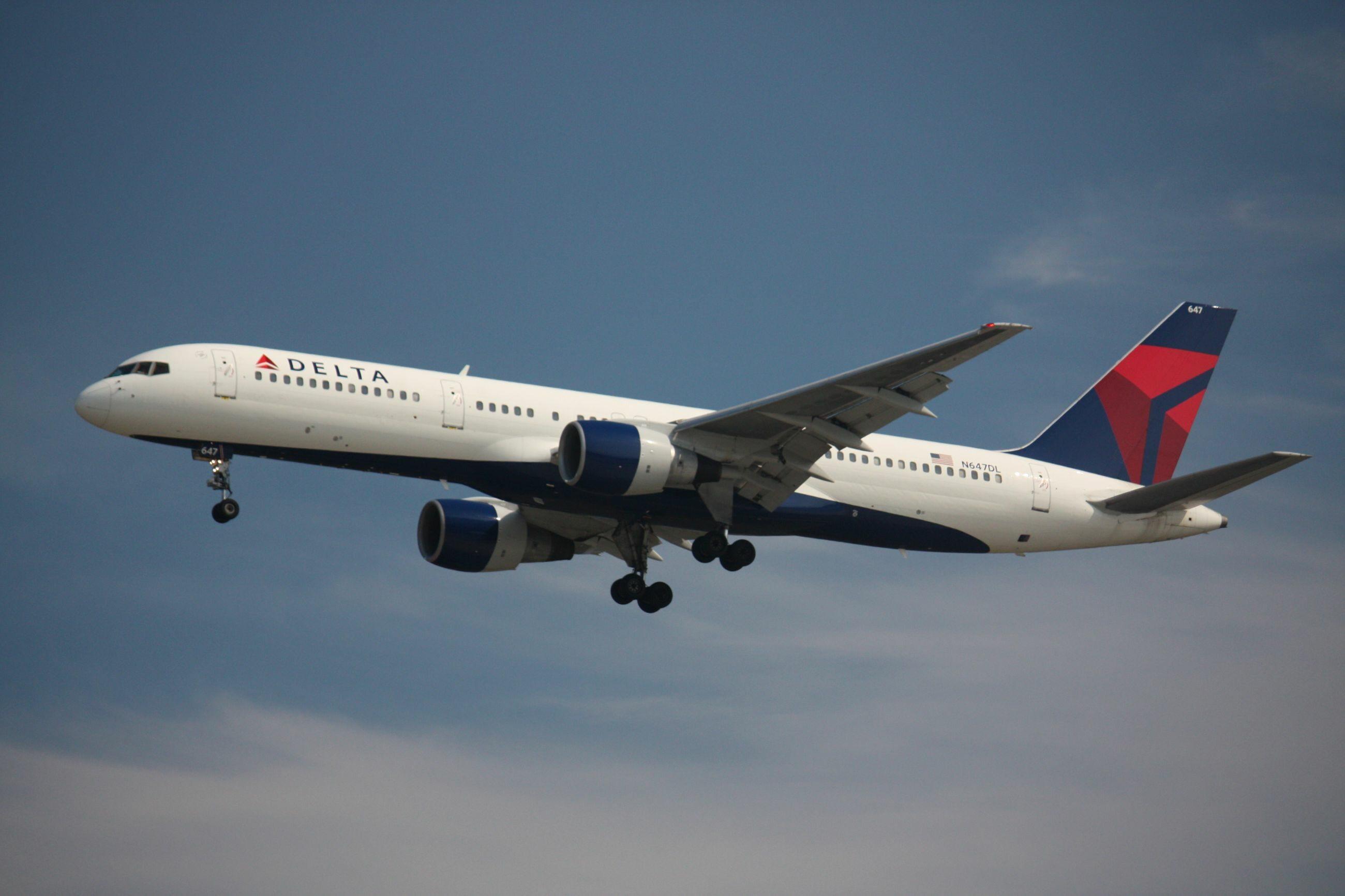 Samolot Delta Air Lines, zdjęcie ilustracyjne