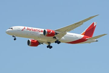 Samolot linii Avianca