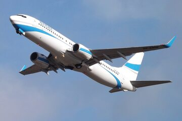 Samolot linii Enter Air, zdjęcie ilustracyjne