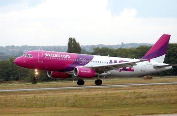Samolot linii lotniczych Wizz Air