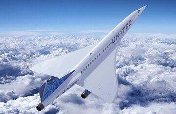 Samolot naddźwiękowy Overture