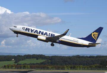 Samolot Ryanair, zdjęcie ilustracyjne