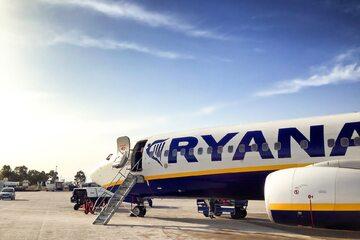 Samolot Ryanair został przechwycony nad Białorusią