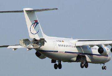 Samolot typu British Aerospace 146, zdjęcie ilustracyjne