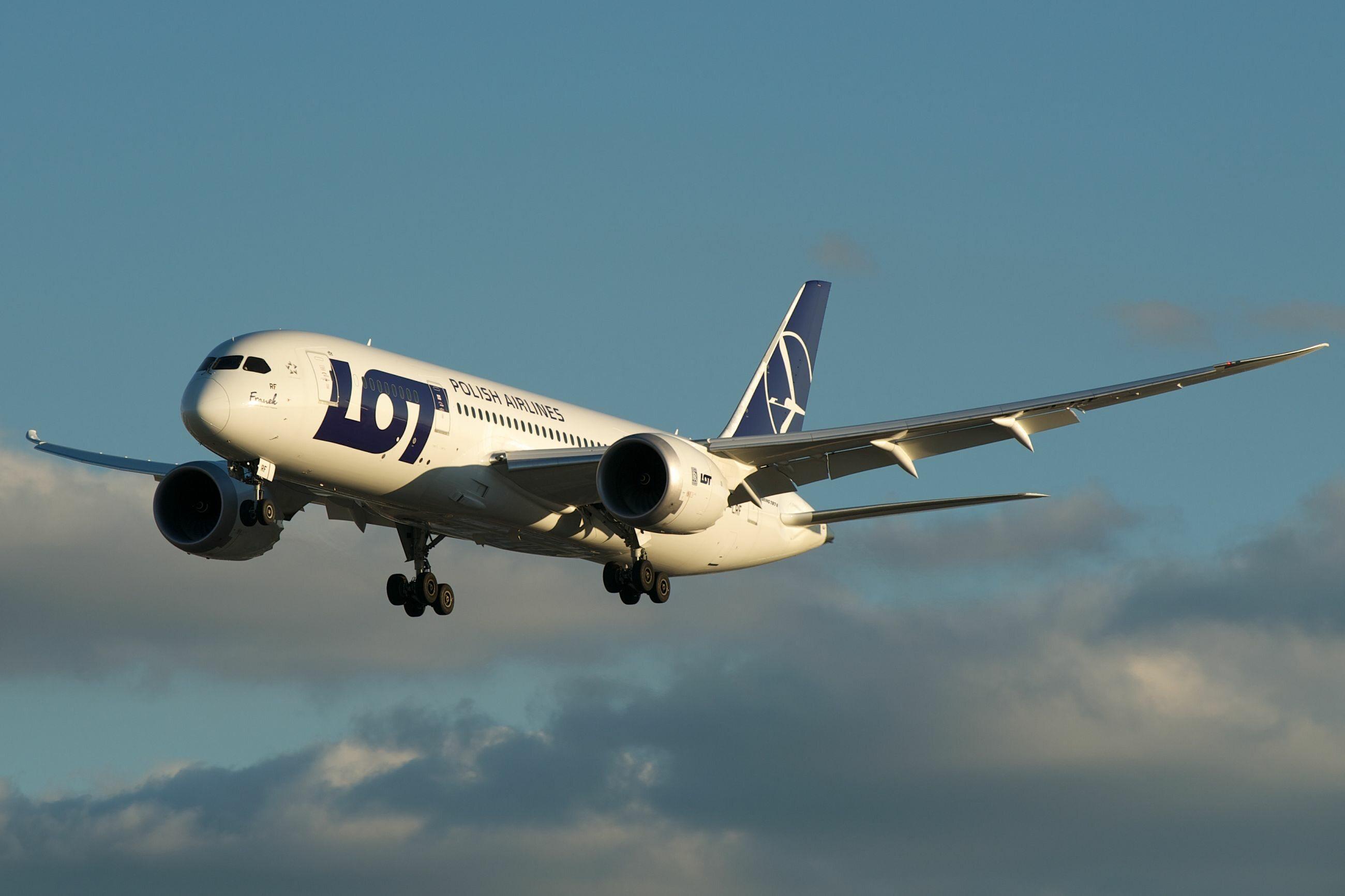 Samolot, zdjęcie ilustracyjne