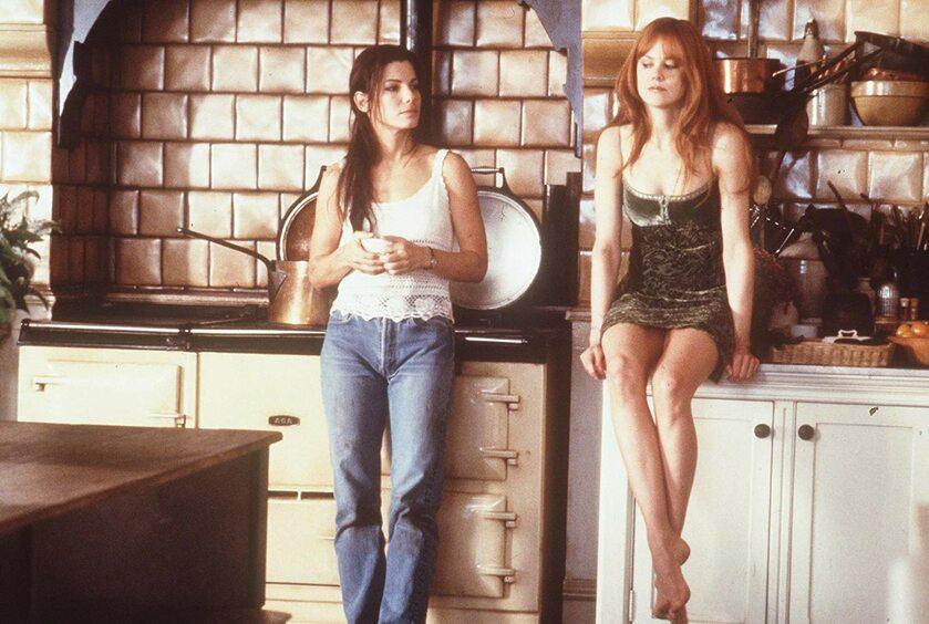 "Sandra Bullock i Nicole Kidman w filmie ""Totalna magia"" (1998)"