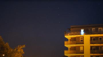 Satelity Starlink nad Polską