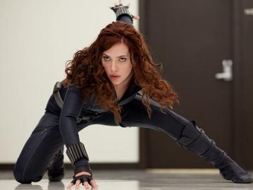 """Scarlett Johansson jako Natasha Romanow (Czarna Wdowa) w filmie """"Iron Man 2"""""""