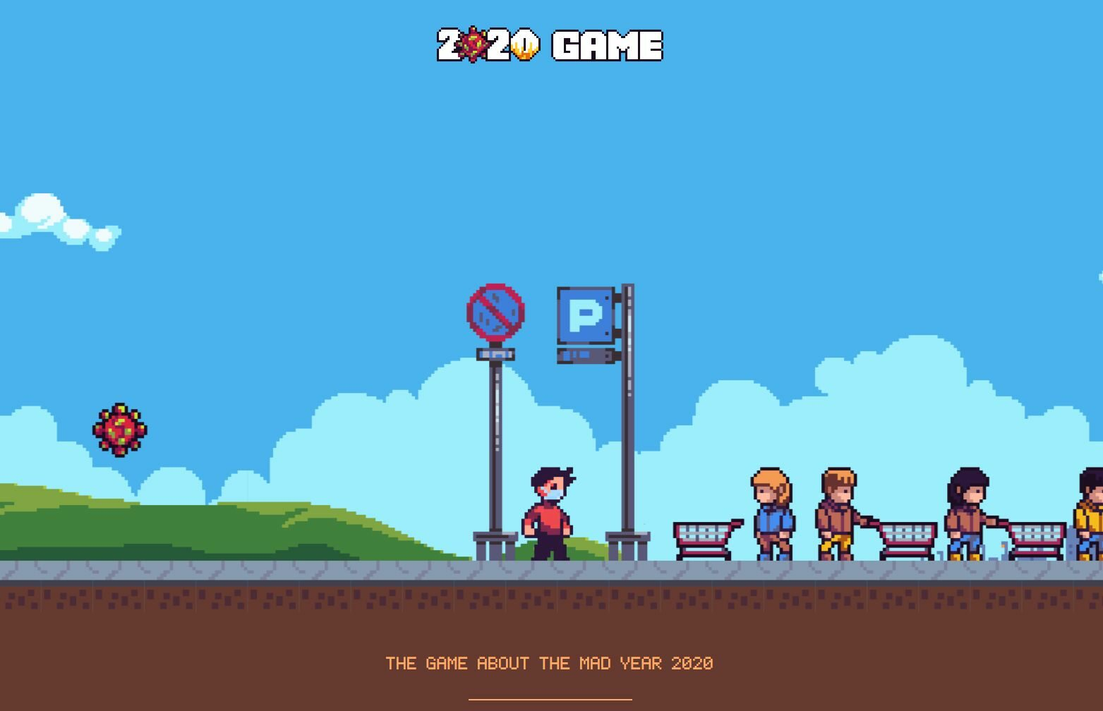 Screen z gry 2020 Game