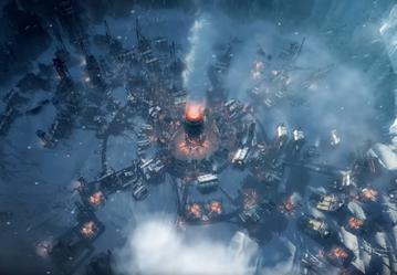 Screen z gry Frostpunk