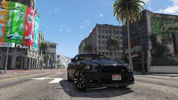 Screen z gry GTA V w 4K