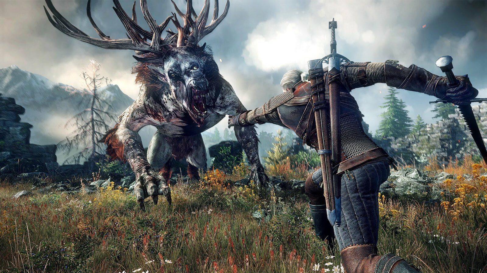 Screen z gry Wiedźmin 3