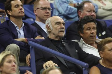 Sean Connery na US Open