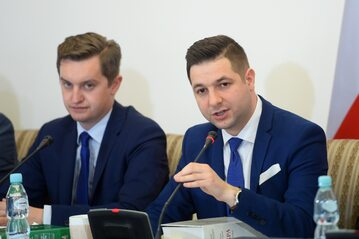 Sebastian Kaleta i Patryk Jaki