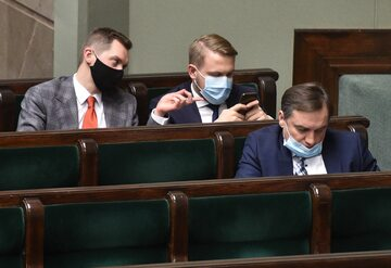 Sebastian Kaleta, Jacek Ozdoba i Zbigniew Ziobro