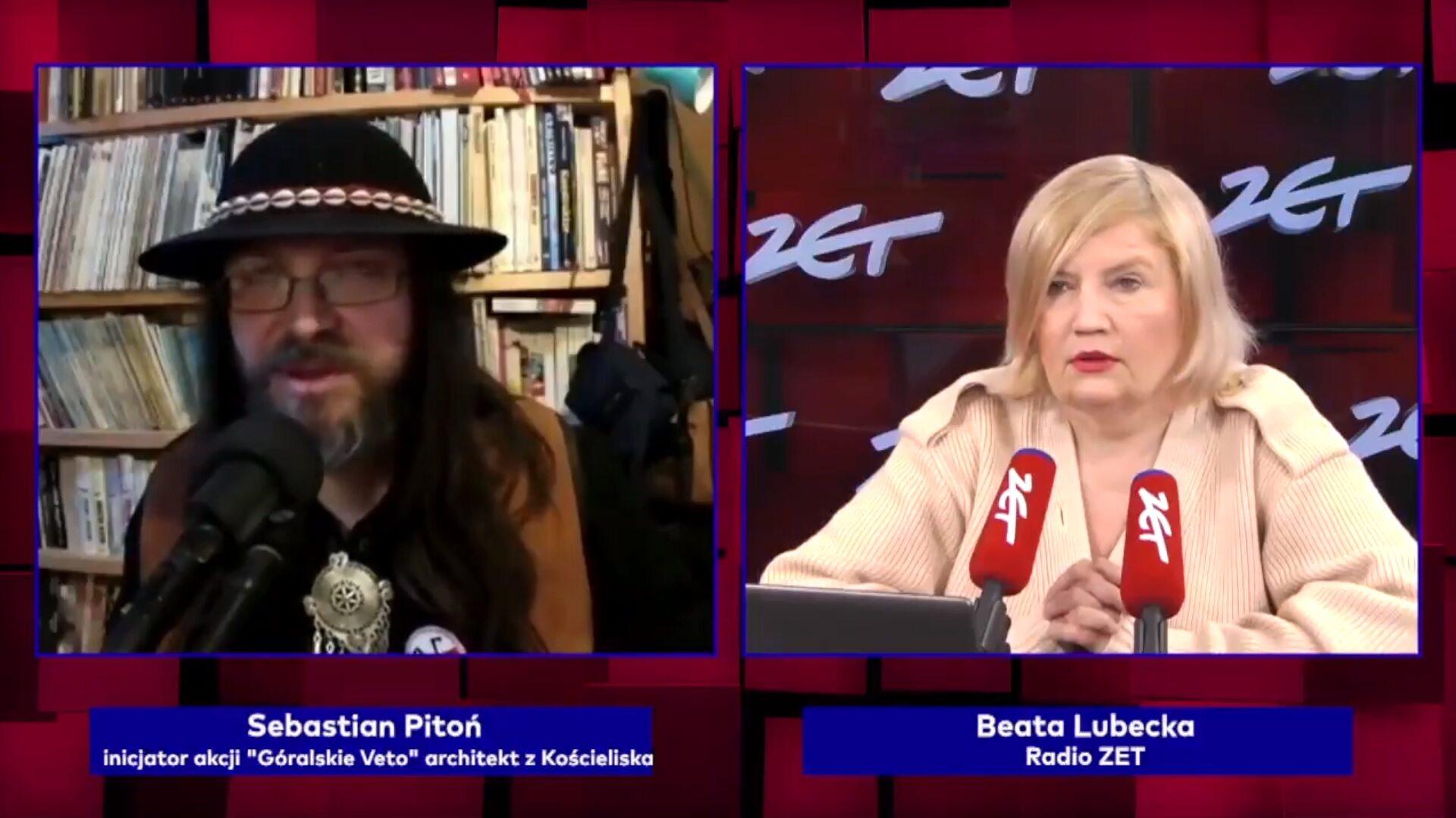 """Sebastian Pitoń w programie """"Gość Radia ZET"""""""
