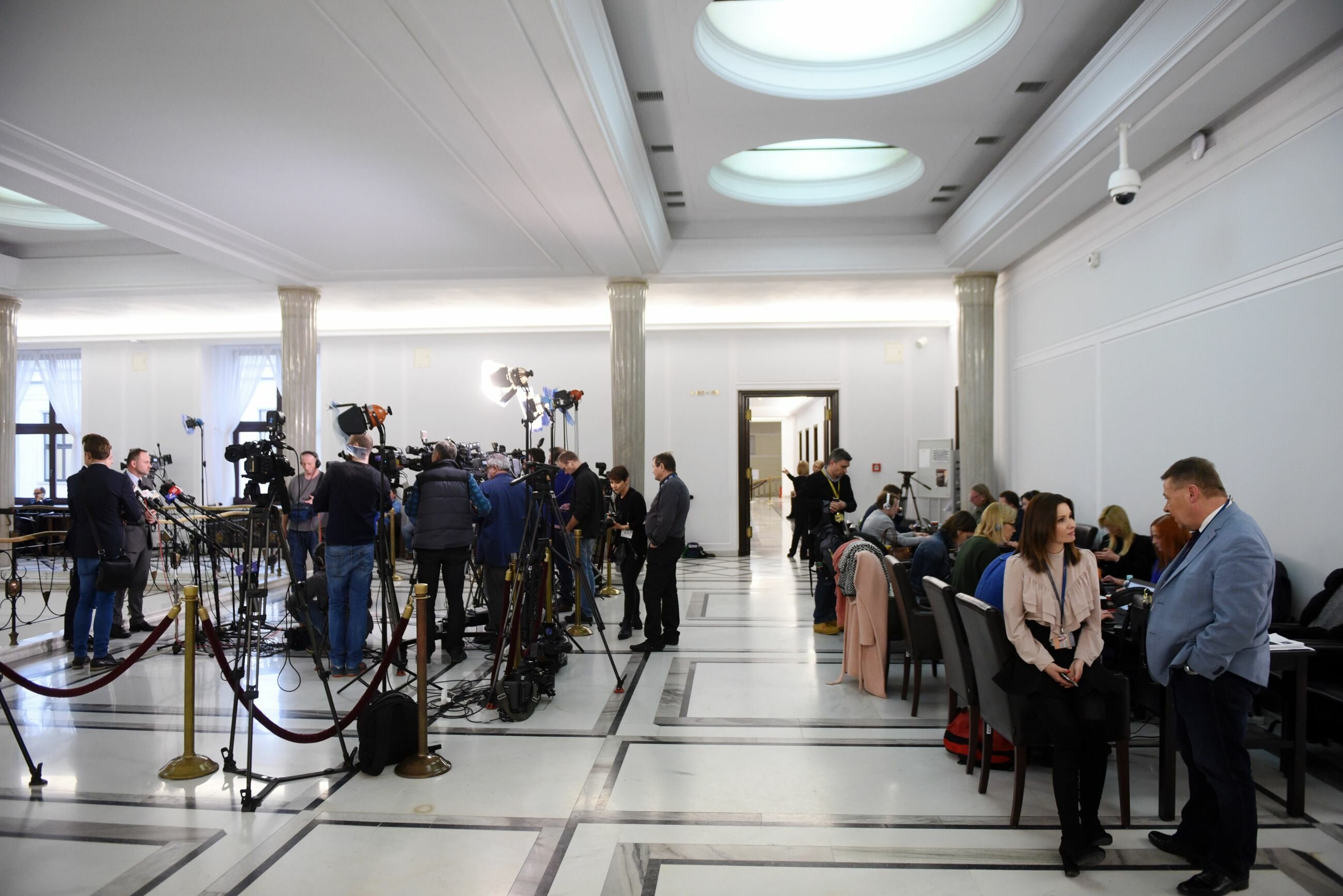Sejm, dziennikarze