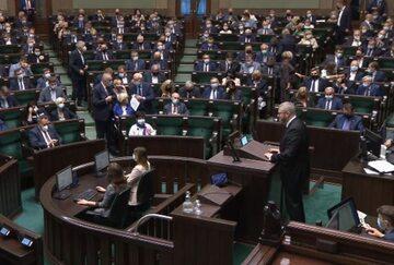 Sejm na początku obrad 15 września