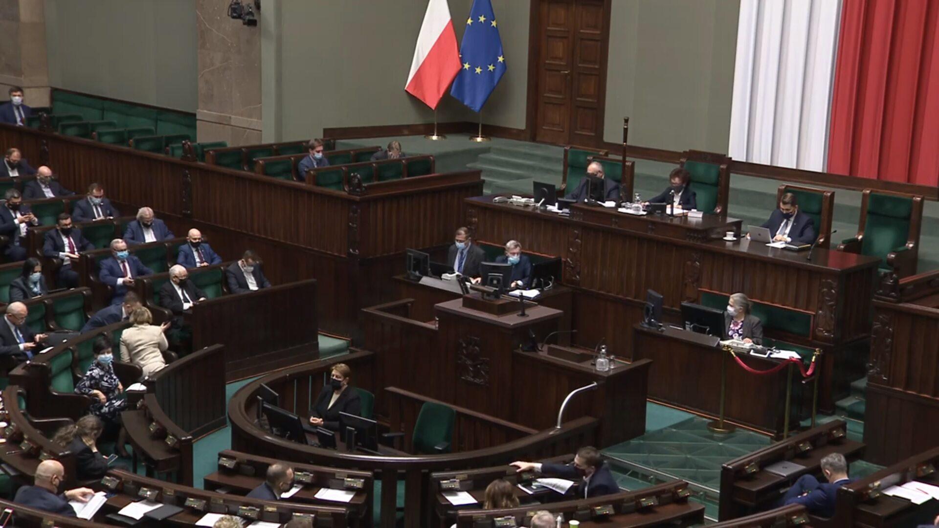 Sejm przegłosował odrzucenie weta Senatu ws. nowelizacji ustawy covidowej