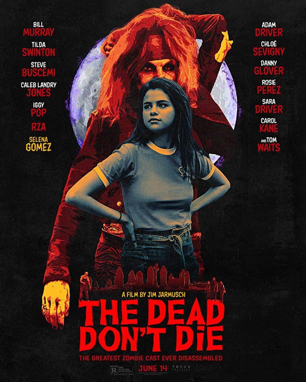 "Selena Gomez na plakacie filmu ""The Dead Don't Die"""