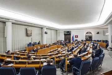 """Senat w trakcie głosowań nad """"Piątką dla zwierząt"""""""