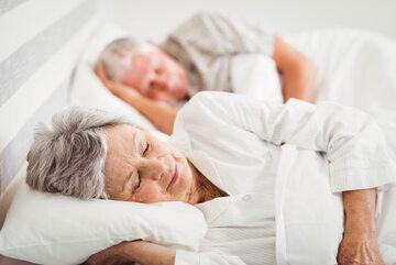Seniorzy śpią