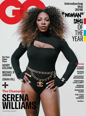 Serena Williams na okładce GQ