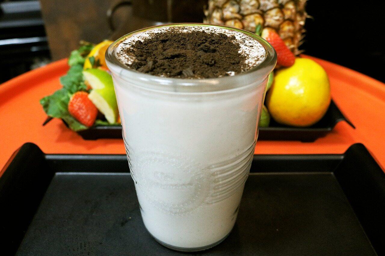 Shake proteinowy, zdjęcie ilustracyjne
