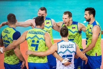 Siatkarska reprezentacja Słowenii