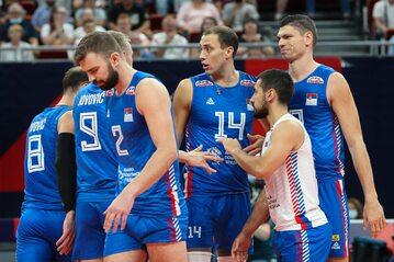 Siatkarze reprezentacji Serbii