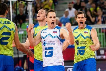Siatkarze reprezentacji Słowenii w 2019 roku
