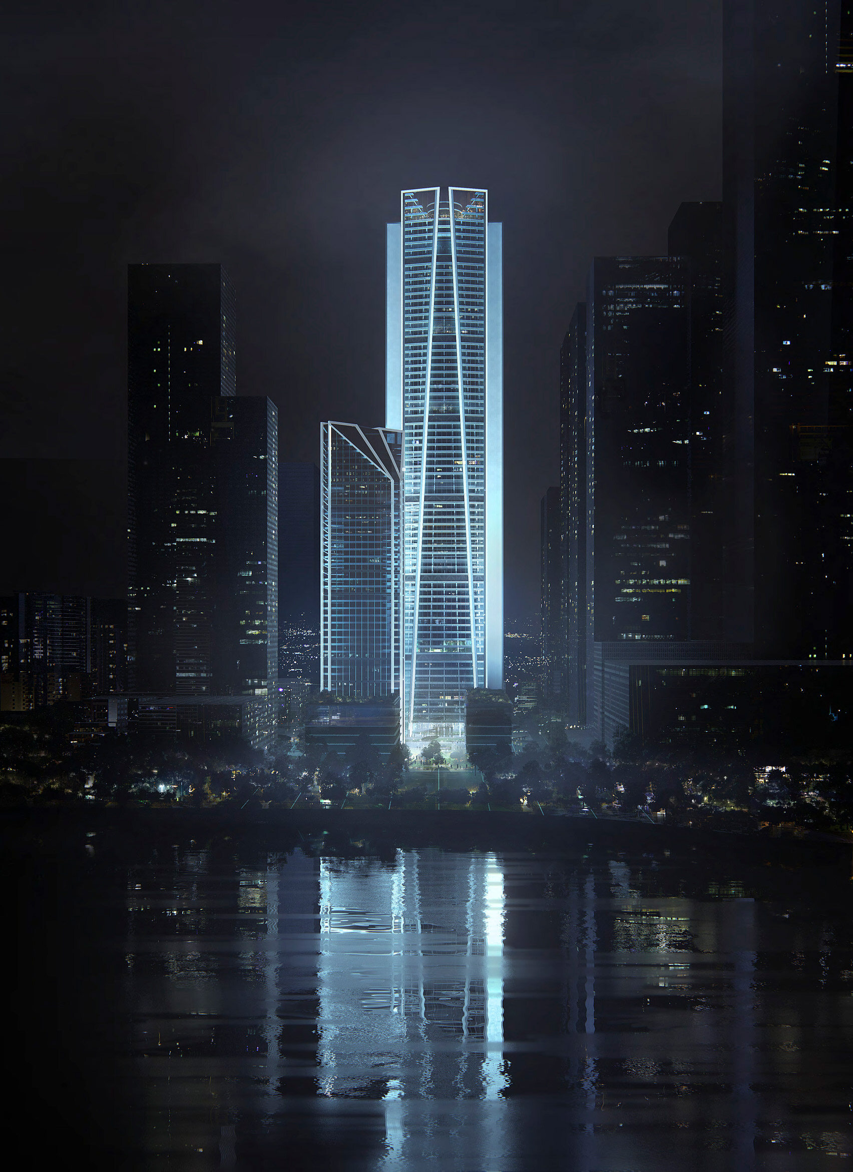 Siedziba China Merchants Bank w Shenzhen