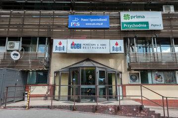 Siedziba PiS na Nowogrodzkiej