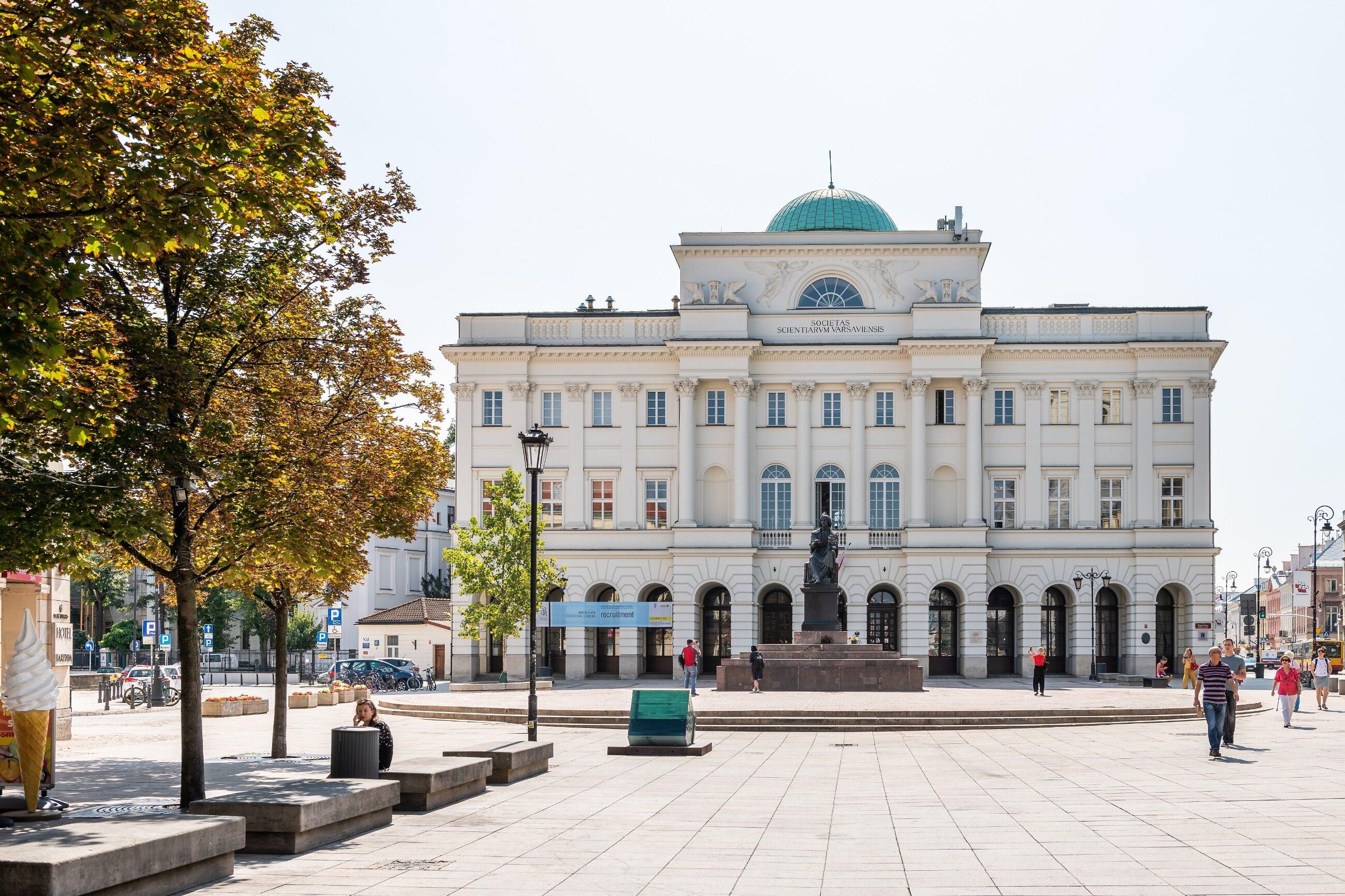 Siedziba Polskiej Akademii Nauk (PAN)