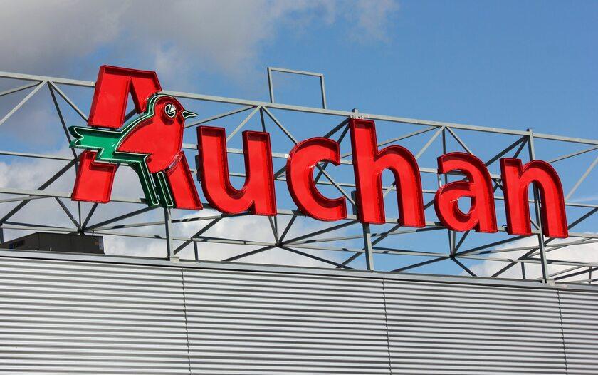 Sklep Auchan, zdjęcie ilustracyjne