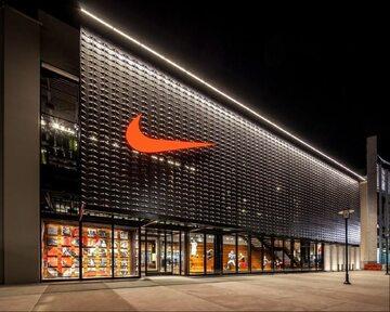 Sklep Nike, zdjęcie ilustracyjne