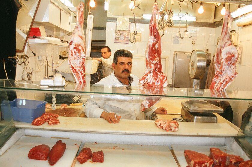 Sklep z mięsem, Jerozolima