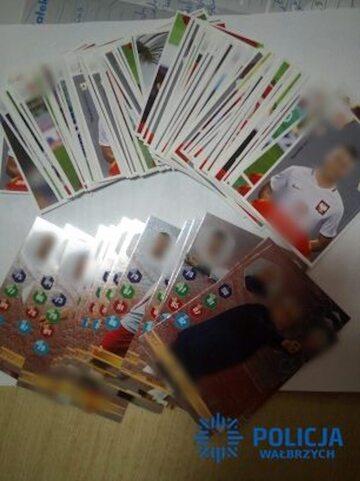 Skradzione karty z piłkarzami