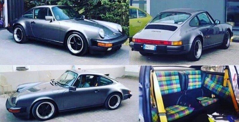 Skradzione klasyczne Porsche 911