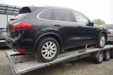 Skradzione Porsche Cayenne