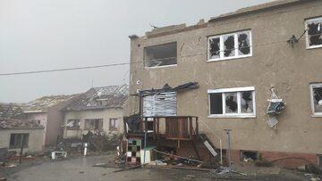 Skutki burz w Czechach