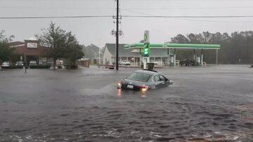 Skutki huraganu Florence