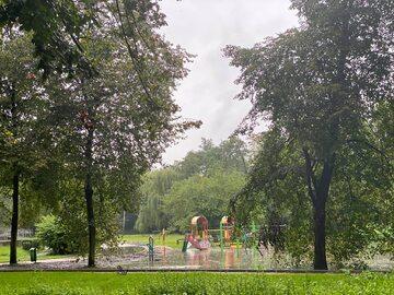 Skutki nawałnic w Mysłowicach
