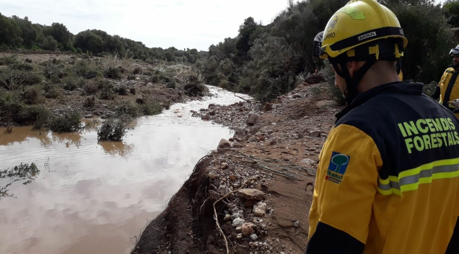Skutki powodzi na Majorce