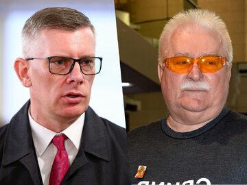Sławomir Cenckiewicz i Lech Wałęsa