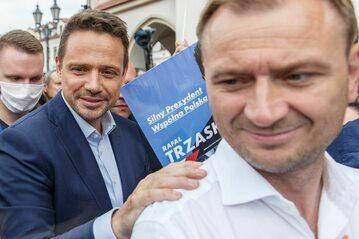 Sławomir Nitras i Rafał Trzaskowski
