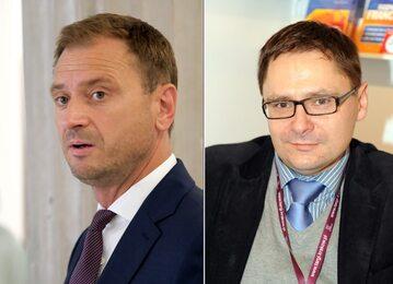 Sławomir Nitras i Tomasz Terlikowski