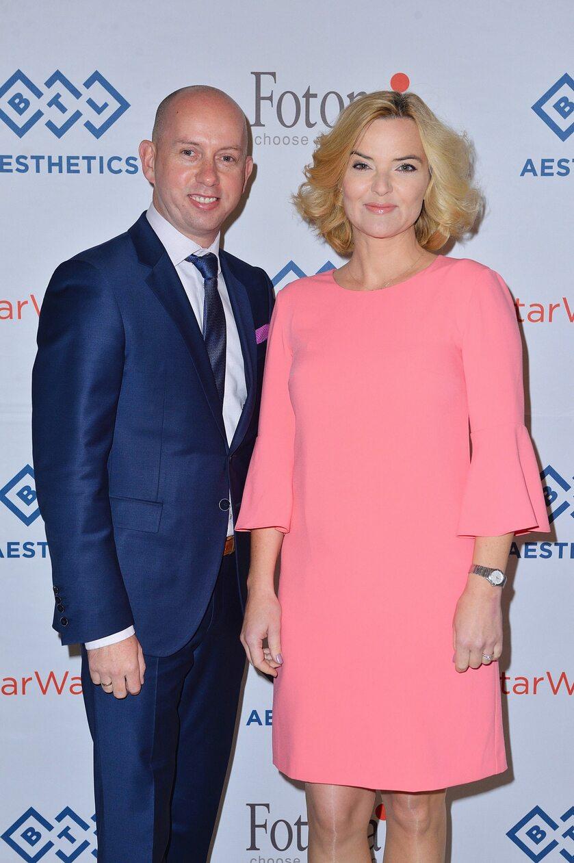 Sławomir Sobusiak Dyrektor Zarządzający BTL Polska i Monika Zamachowska