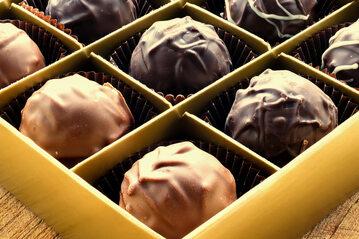 Słodkości z czekolady